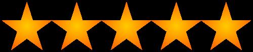 5-stars customer testimonial